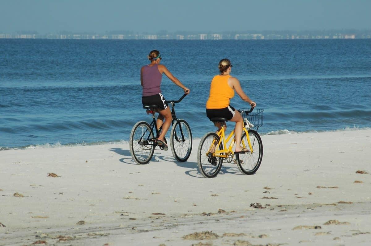 Best Bike Friendly Florida Towns Bikes On The Beach